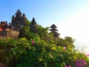 バリ島のウルワトゥ寺院