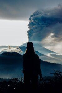 バリ島のアグン山